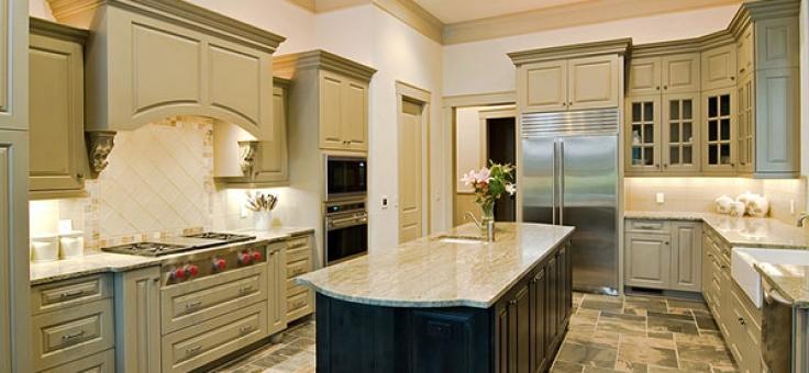 Vintage Antique Style Kitchen Cabinets Monterey Cypress Design Build