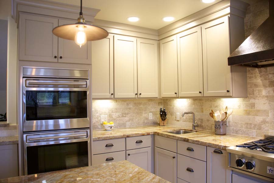 Cypress Design & Build Completed Kitchen Cabinets