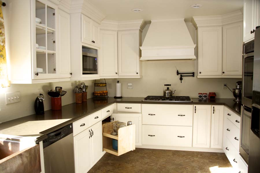 Cypress Design & Build Completed Kitchen Storage Options