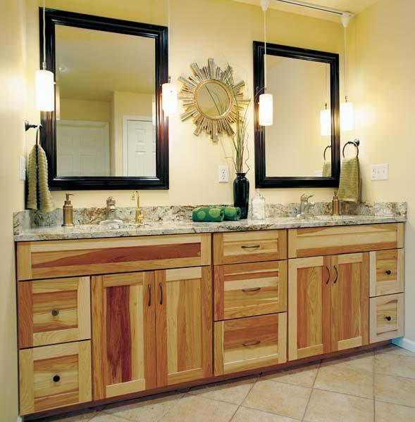 Cypress Cabinets Bathrooms
