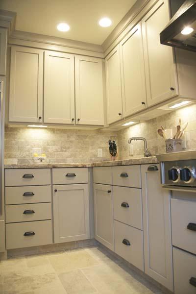 Cypress Design & Build New Kitchen Backsplash