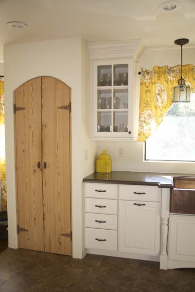 Kitchen Remodel Country Pantry Doors