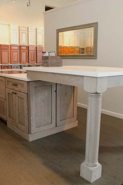 Cypress Design & Build Showroom Kitchen Island