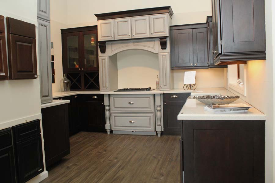 Cypress Showroom Kitchen Cabinets