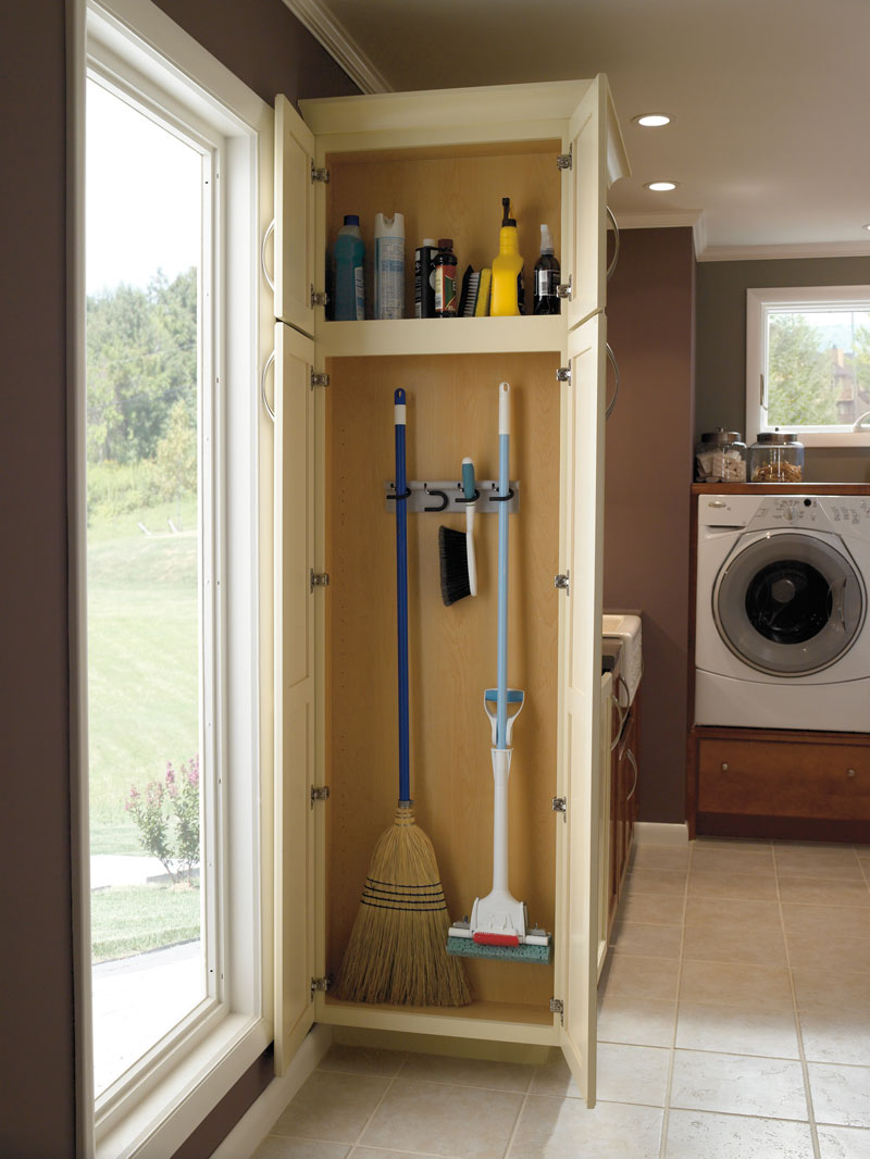 Laundry Room Storage Closet
